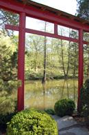 Tor im Feng Shui - Garten